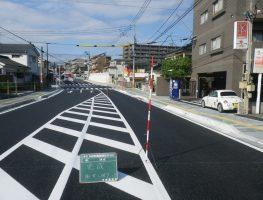 谷山支所前通線道路築造工事(その12)
